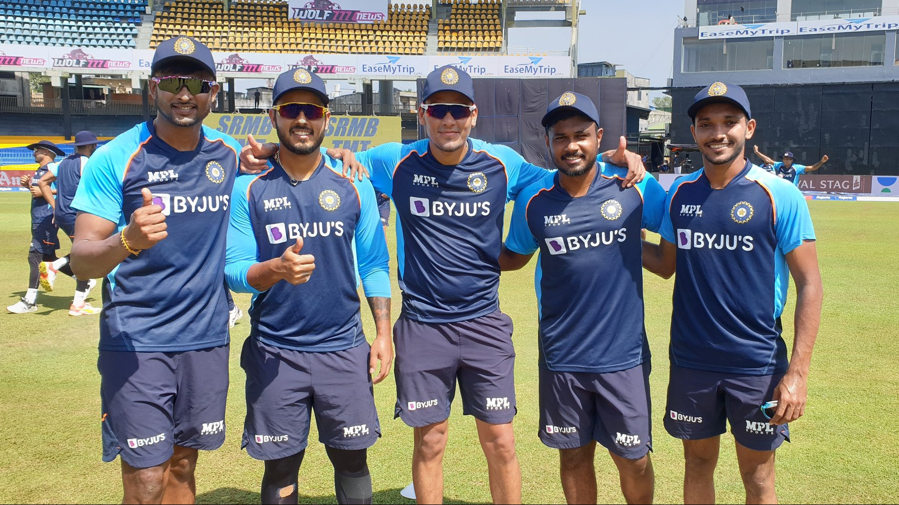 SL v IND 2021: WATCH - Team India hand ODI debut caps to five cricketers for the dead rubber