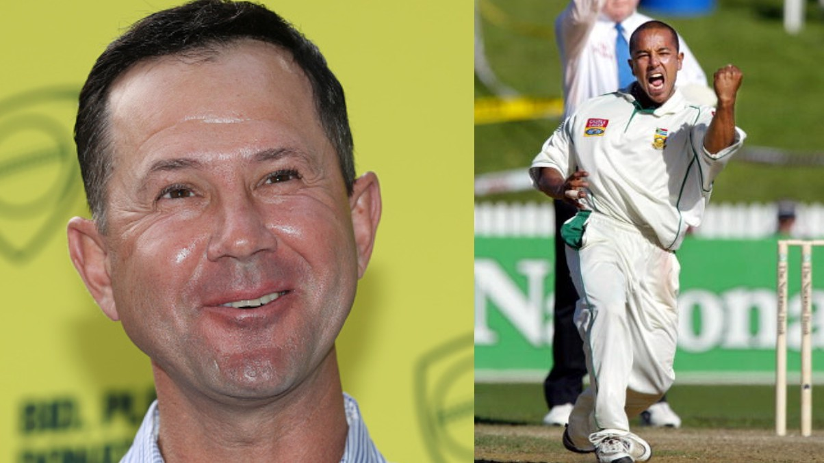 Ricky Ponting trolls Paul Adams for bowling perfect delivery for him to reach his ton