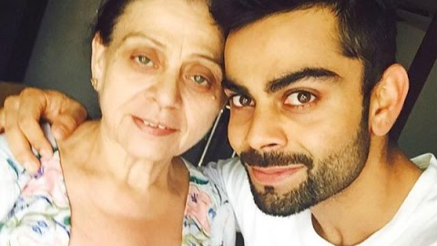 Virat Kohli thinks there is no superhero stronger than mother