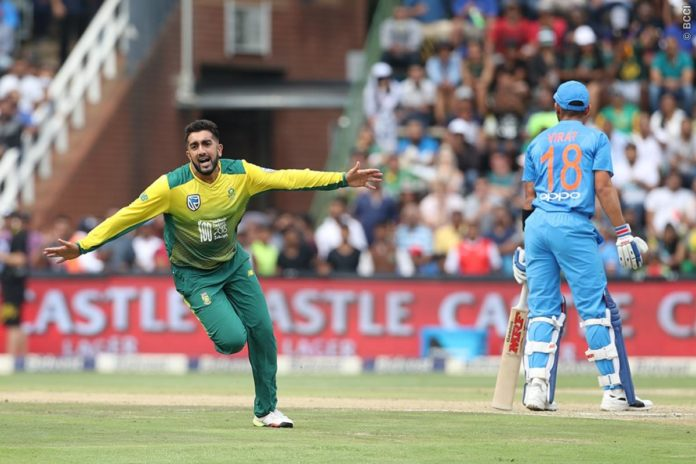 तबरेज़ शम्सी के लिए विराट कोहली का विकेट उनके जन्मदिन पर बना उनका खास तोहफा