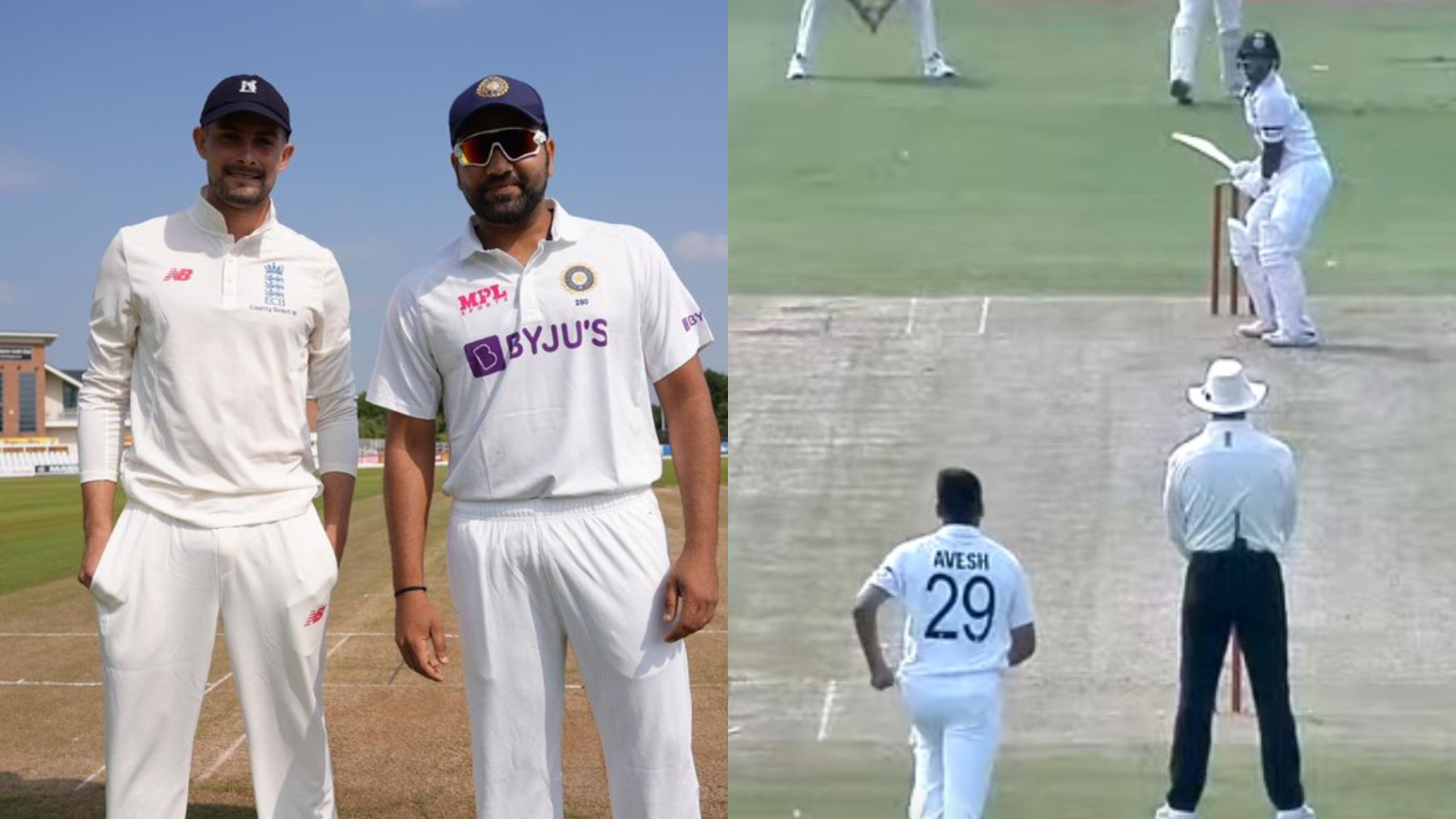 Rohit Sharma captains Indians; Washington Sundar and Avesh Khan play for County Select XI
