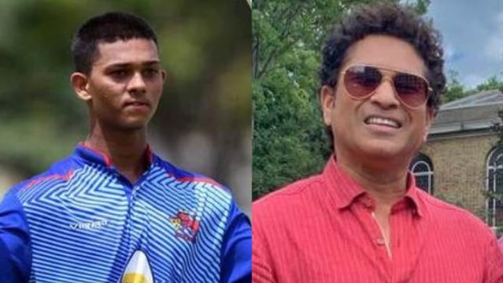 सचिन तेंदुलकर के पुराने वीडियो देखकर बल्लेबाज़ी की बारीकियां सीखते थे यशस्वी जायसवाल