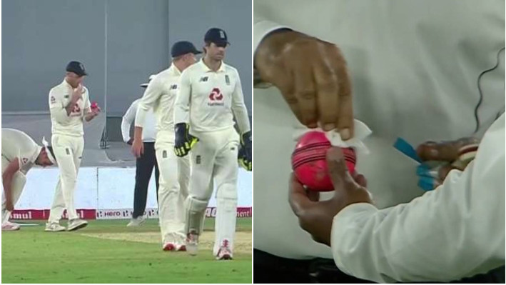 IND v ENG 2021: Ben Stokes caught applying saliva on the ball; umpire takes out sanitizer