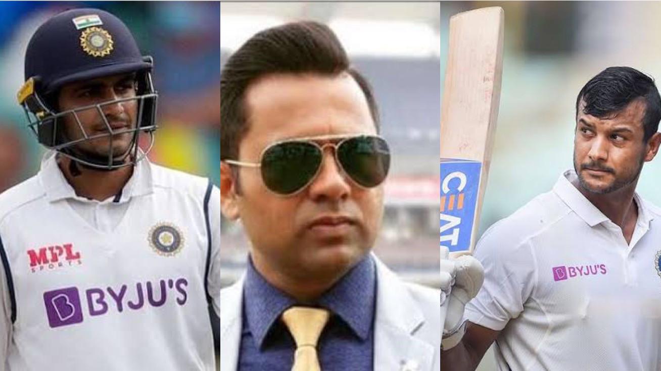 Shubman Gill should play ahead of Mayank Agarwal in the WTC final - Aakash Chopra