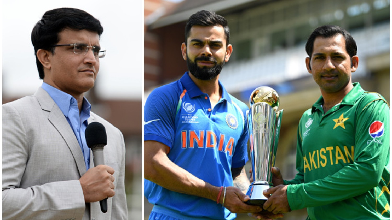 CWC 2019: Sourav Ganguly has his say on the much awaited Indo-Pak World Cup clash