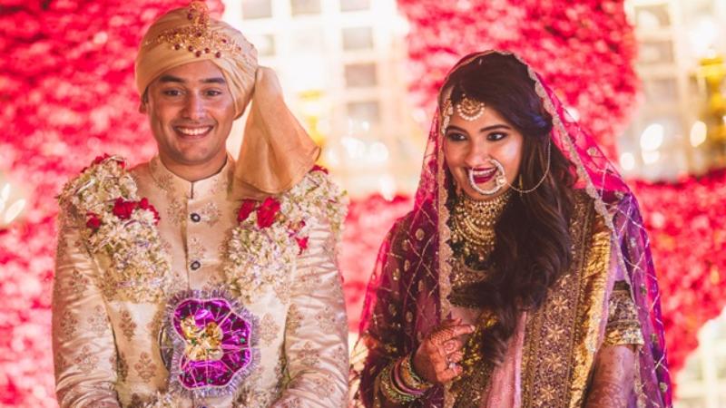 सानिया मिर्जा की बहन अनम के साथ शादी के बंधन में बंधे मोहम्मद अजहरुद्दीन के बेटे असदुद्दीन
