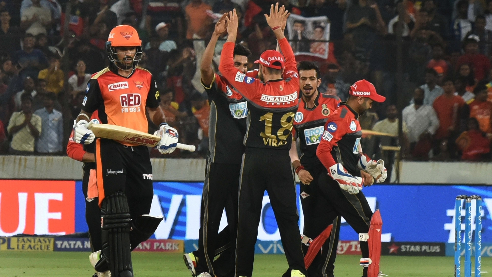 IPL 2018: SRH v RCB - Siraj and Southee's brilliance with the ball restrict SRH to 146; Williamson hits fifty