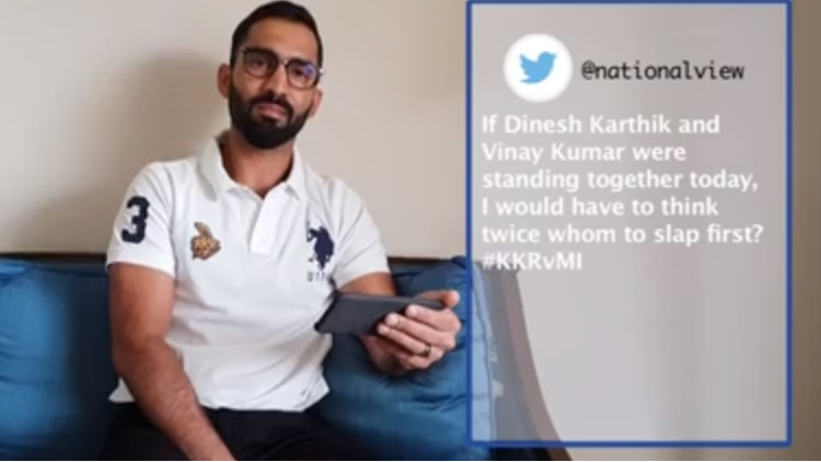 IPL 2018: WATCH- KKR skipper Dinesh Karthik responds to mean and unpleasant tweets he receives on Twitter