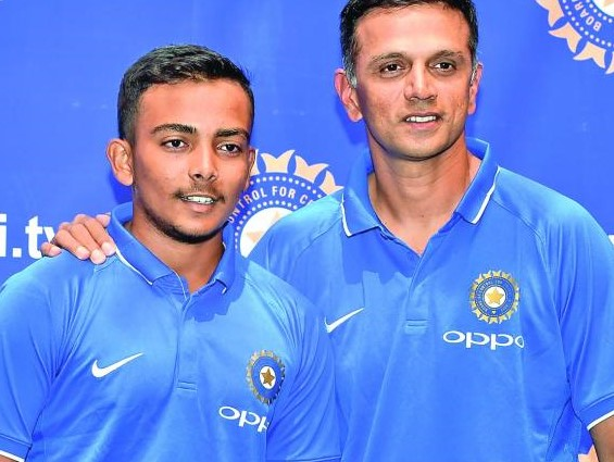 Our goal is to win the U-19 World Cup, says Prithvi Shaw