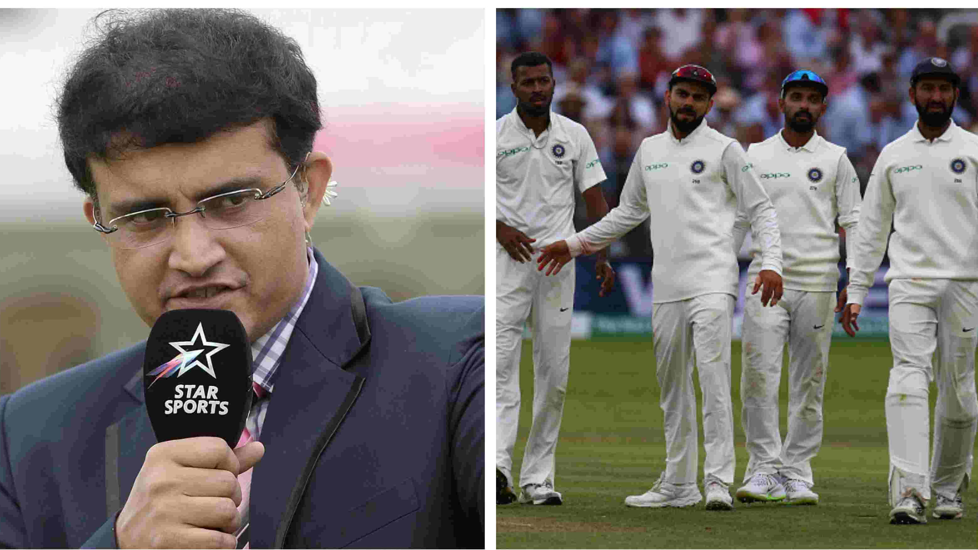 ENG v IND 2018: Sourav Ganguly fears whitewash for Team India in England Test series