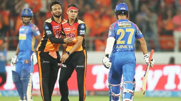 IPL 2019: Match 8, SRH v RR - Statistical Preview