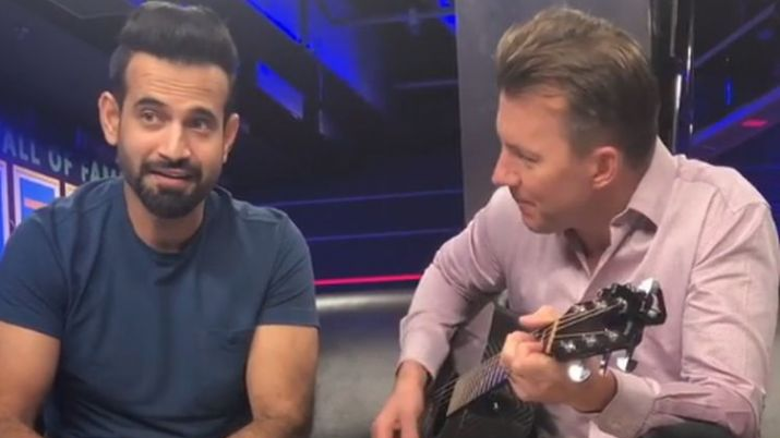 WATCH: Irfan Pathan and Brett Lee impress fans with their musical talent