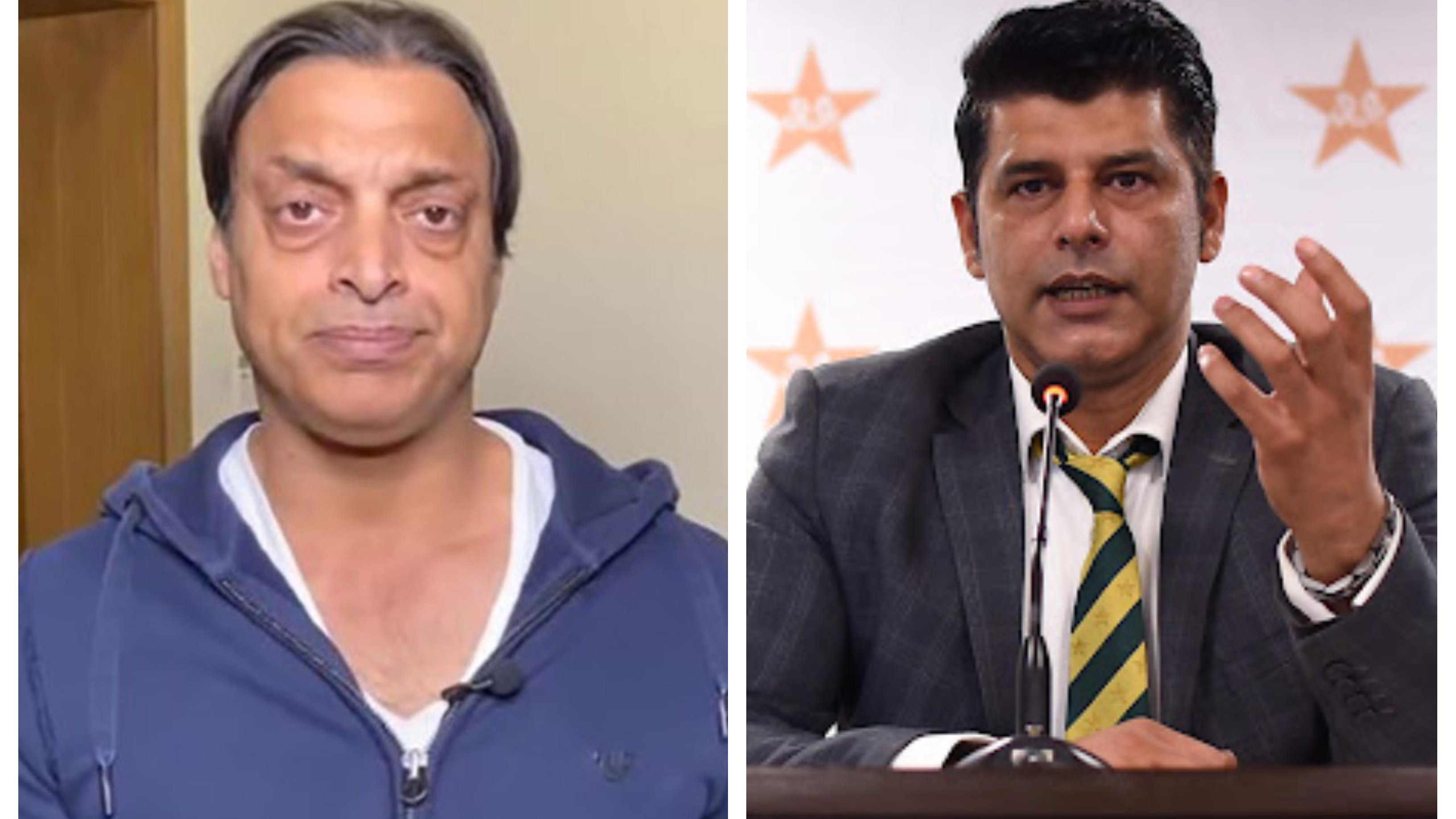 Shoaib Akhtar calls Pakistan's chief selector a 'puppet' after being unpleased with T20 World Cup squad