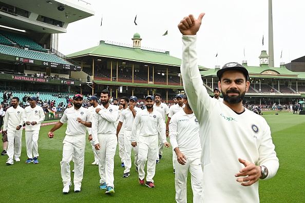 Kohli was also named the captain of ICC's Test and ODI team of the year | Getty