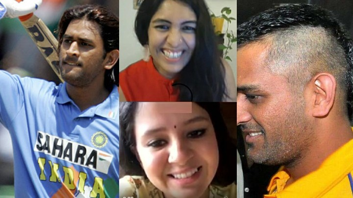 WATCH: Sakshi picks the worst hairstyle of MS Dhoni which may upset Thala fans
