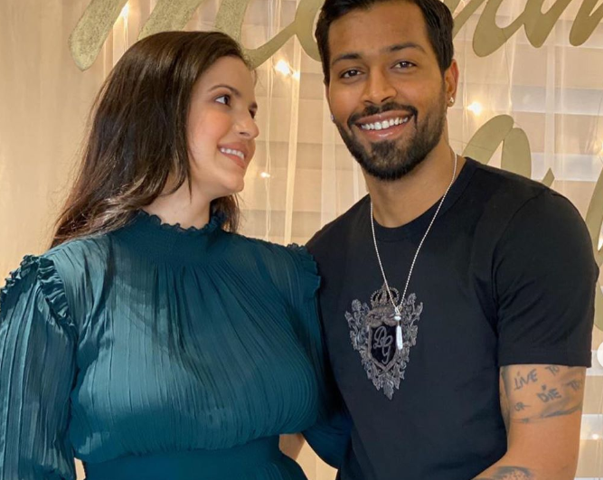 Hardik Pandya and Natasa Stankovic | Instagram