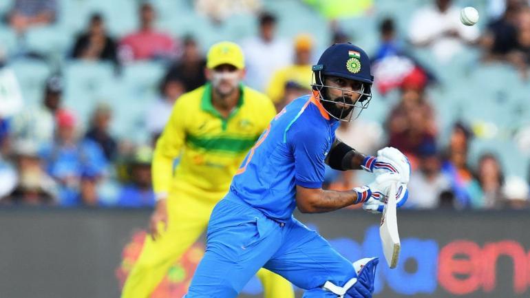Virat Kohli batted at No.4 in the Mumbai ODI | AP