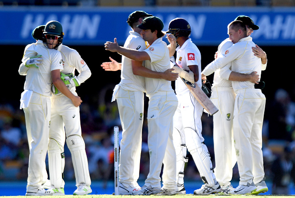 Australia won to go 1-0 up in the series   Getty