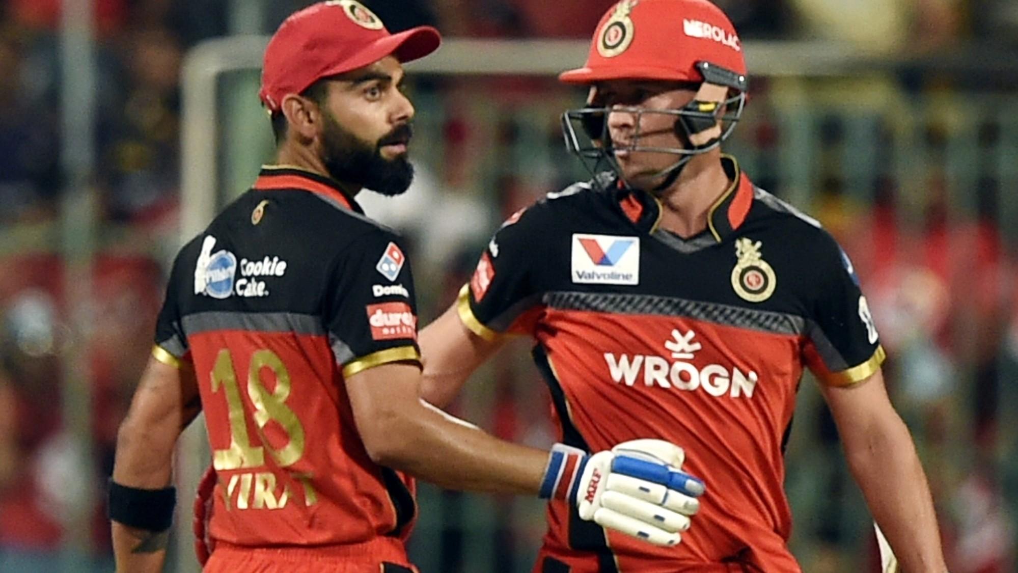 AB de Villiers and Virat Kohli | IANS