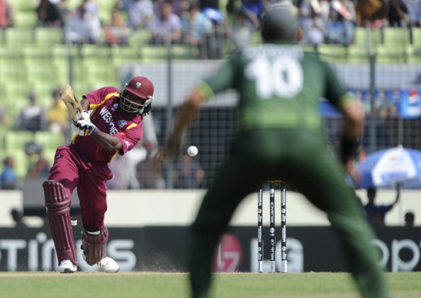 Chris Gayle against Pakistan | GETTY