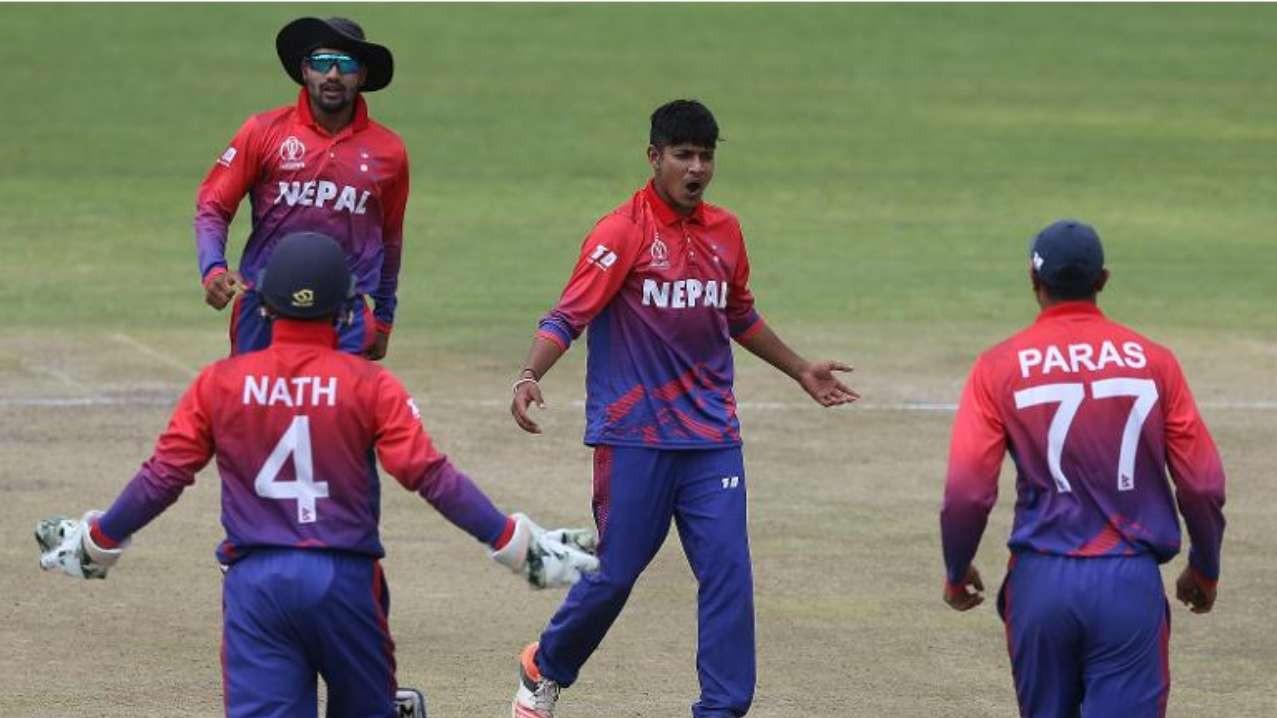 Nepal registers memorable victory in ODI debut
