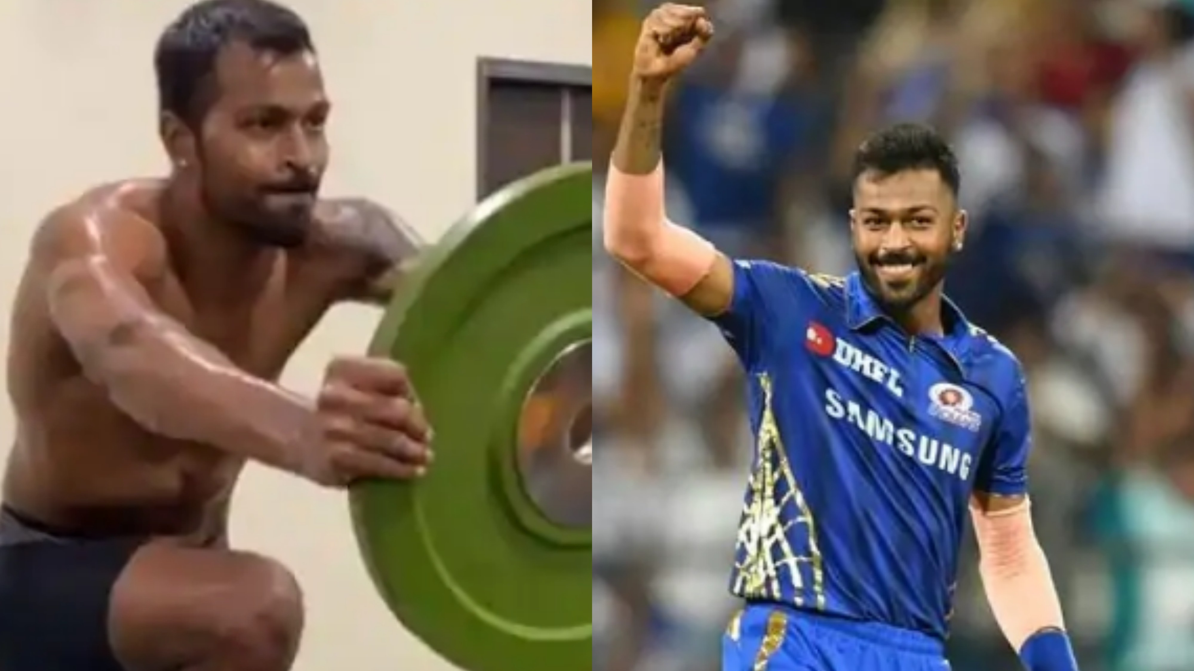 IPL 2020: WATCH- Hardik Pandya
