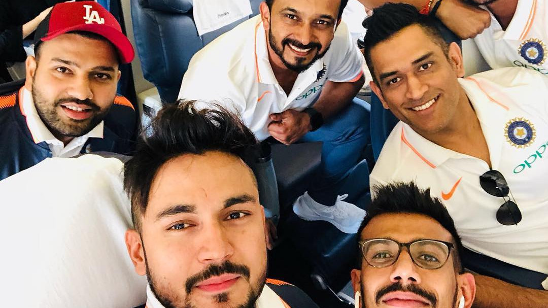 In Pics: Team India players depart for Dubai to feature in the Asia Cup 2018