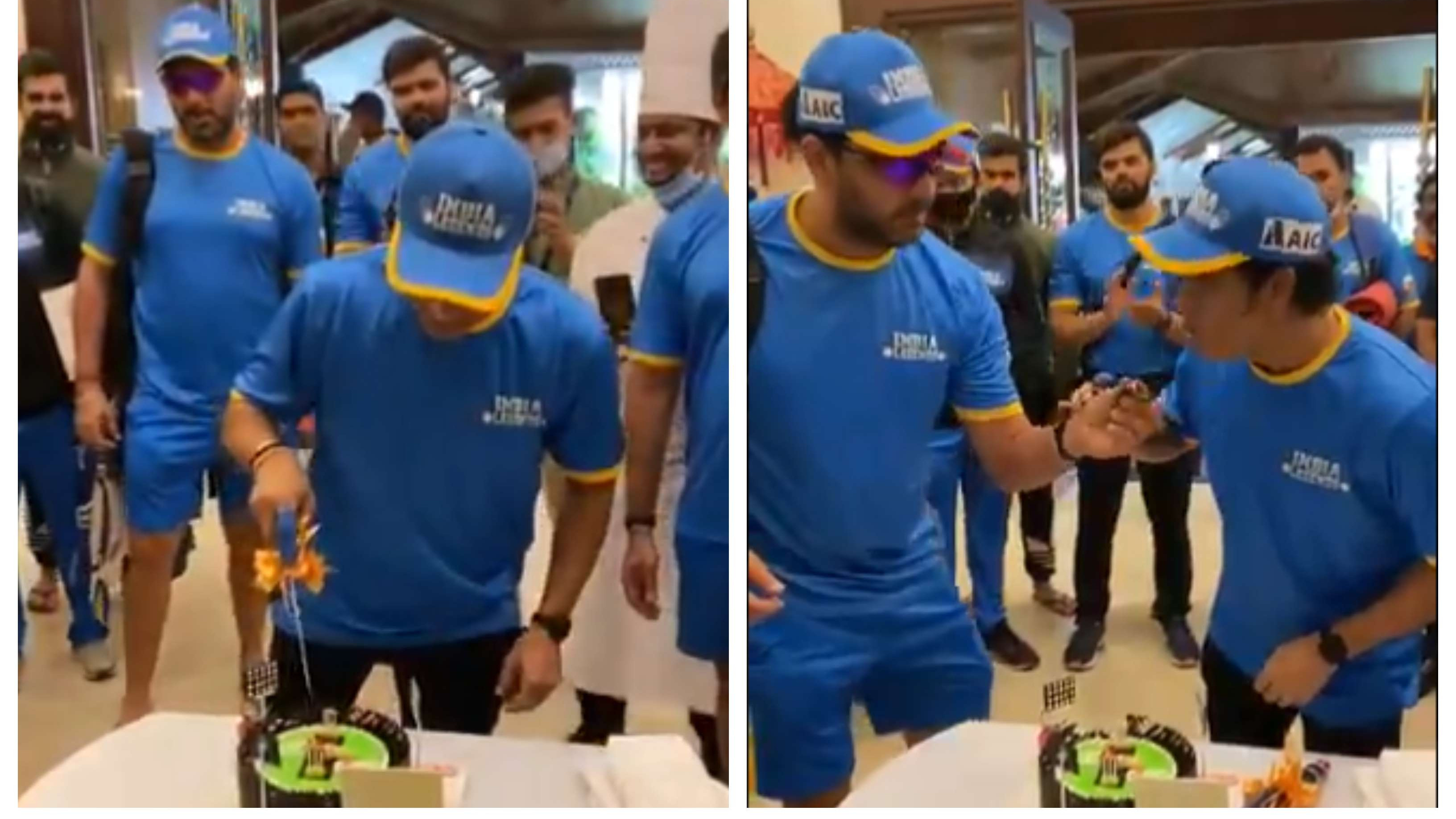 WATCH: Sachin Tendulkar celebrates 9th anniversary of his 100 international tons along with India Legends teammates