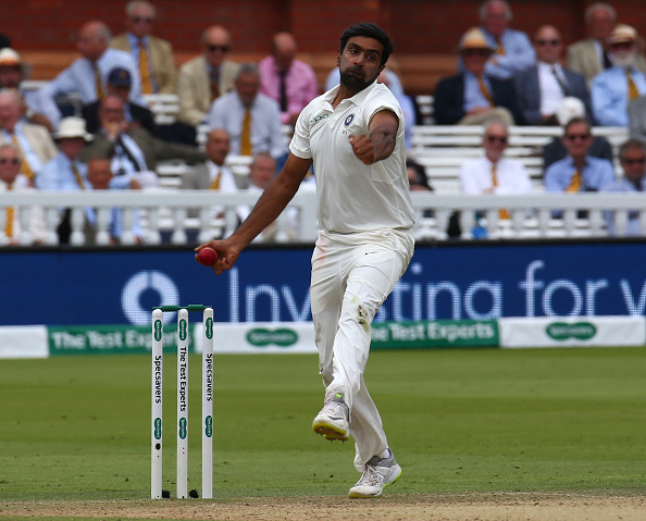 Ashwin had picked up a groin injury during the third Test against England at Trent Bridge   Getty