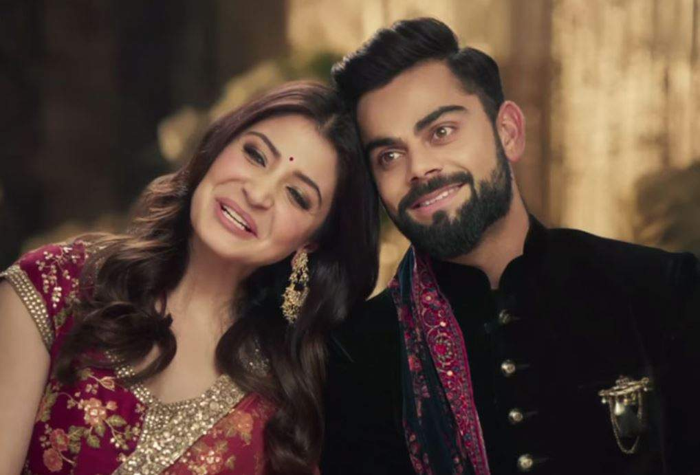 Virat Kohli gave major 'husband goals' in his recent photo with wife Anushka