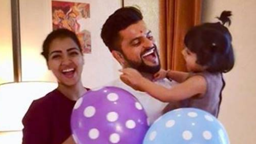 Priyanka Raina is overjoyed with her husband Suresh Raina's performance