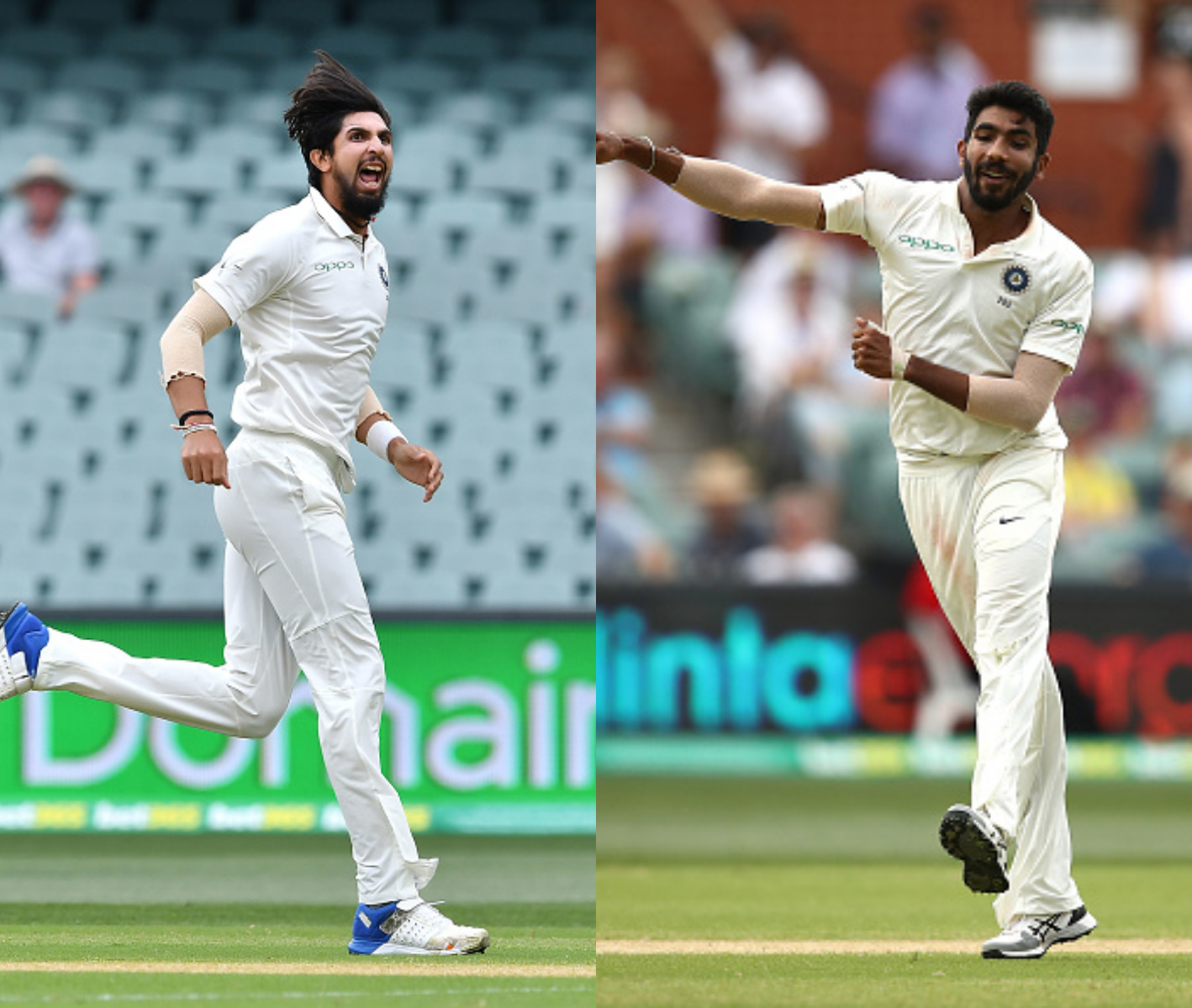 Ishant Sharma and Jasprit Bumrah supported Ashwin well with two wickets apiece | Getty