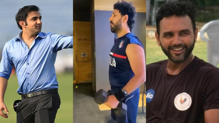 Gautam Gambhir and Parthiv Patel have a hilarious take on Yuvraj Singh's workout