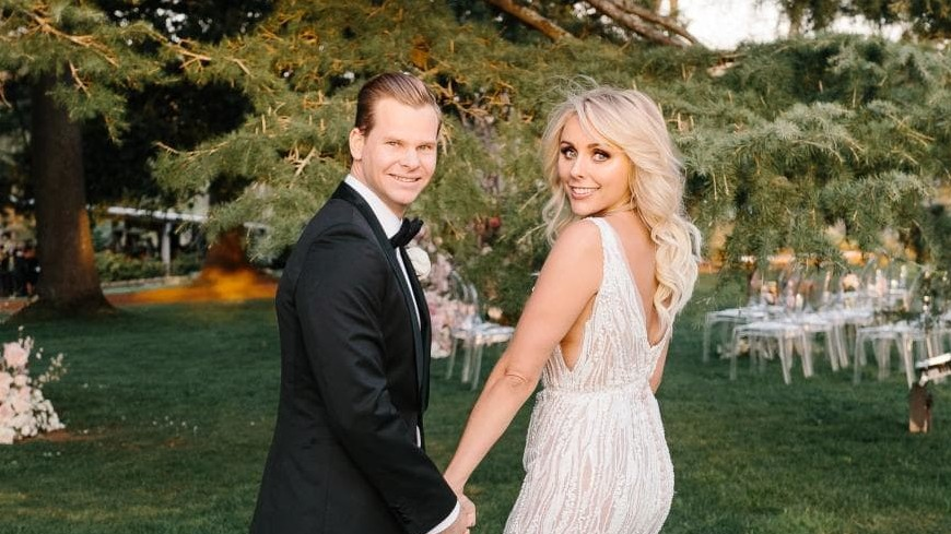 Steve Smith wishes wife Dani Willis with a lovely message on their first wedding anniversary