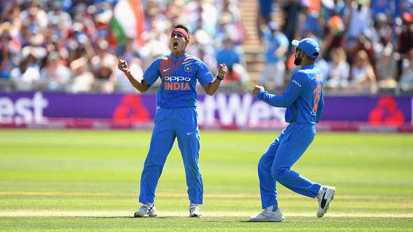 IND v WI 2018: Siddharth Kaul ends up congratulating himself after being added to the Indian squad