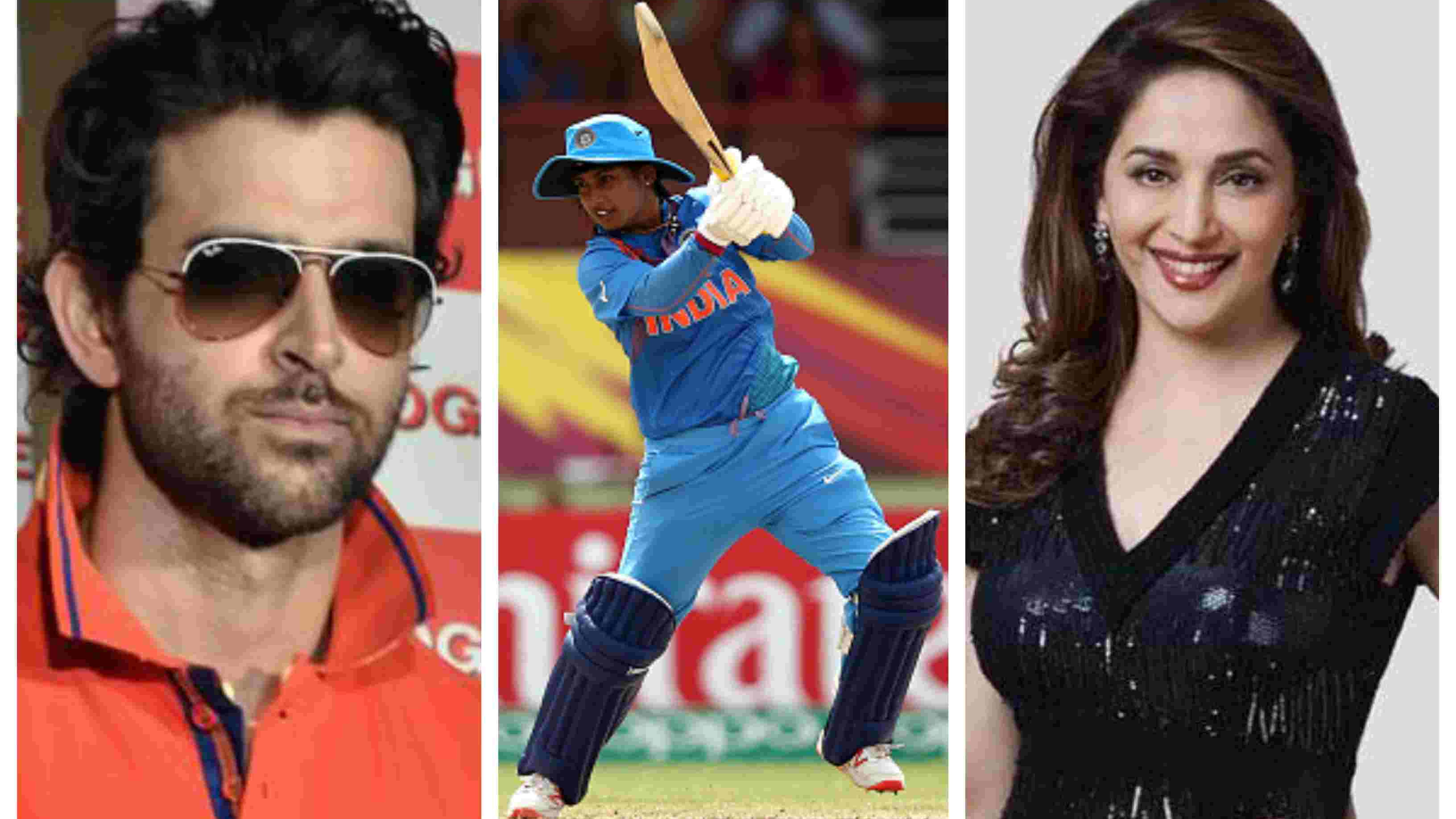 Mithali Raj overwhelmed after receiving praise from Hrithik Roshan and Madhuri Dixit
