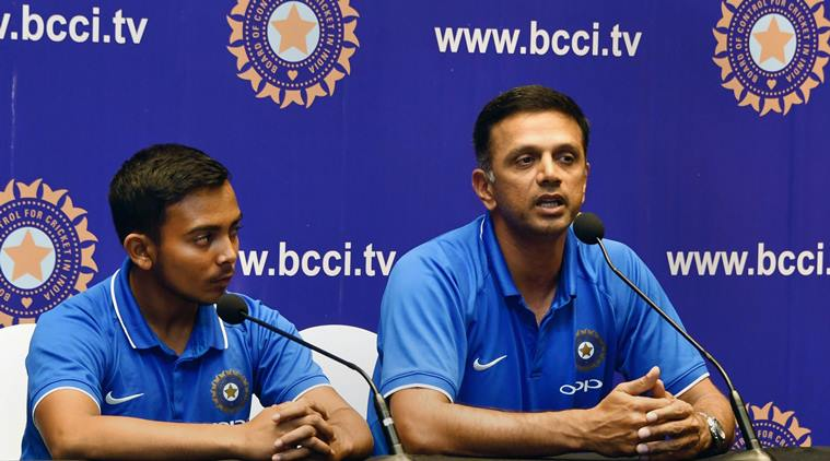 Dravid mentored the team to their fourth World Cup win. (Express Web)