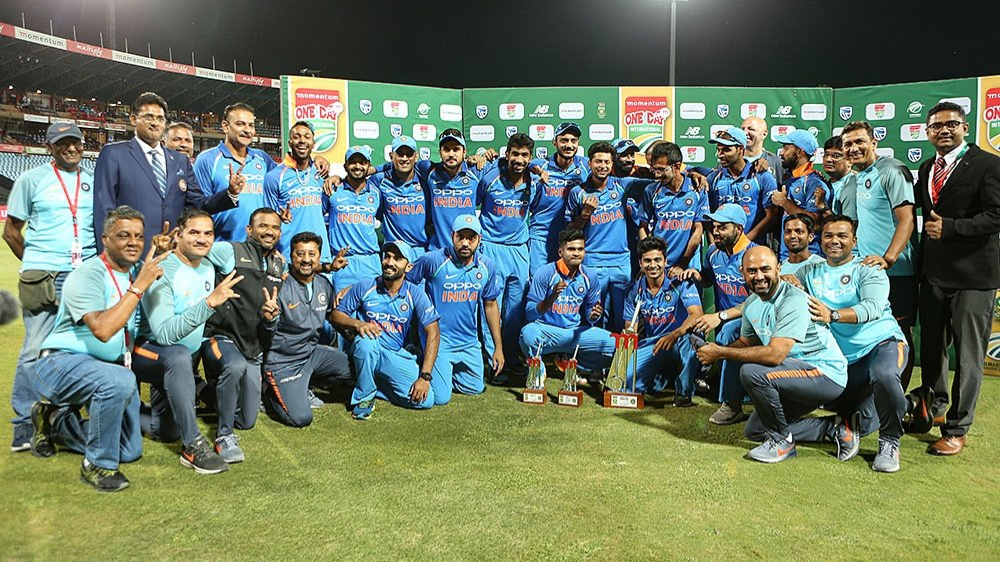 Team India Player Ratings for South Africa- India T20I series