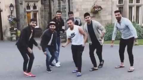 WATCH: India A cricketers dance on Sanjay Dutt's hit song from Munna Bhai MBBS