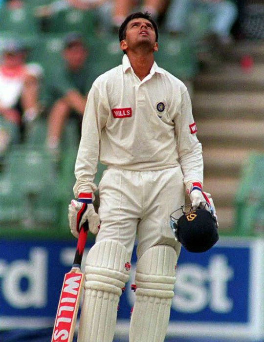 Rahul Dravid scored a great century in the 1997 Joburg Test