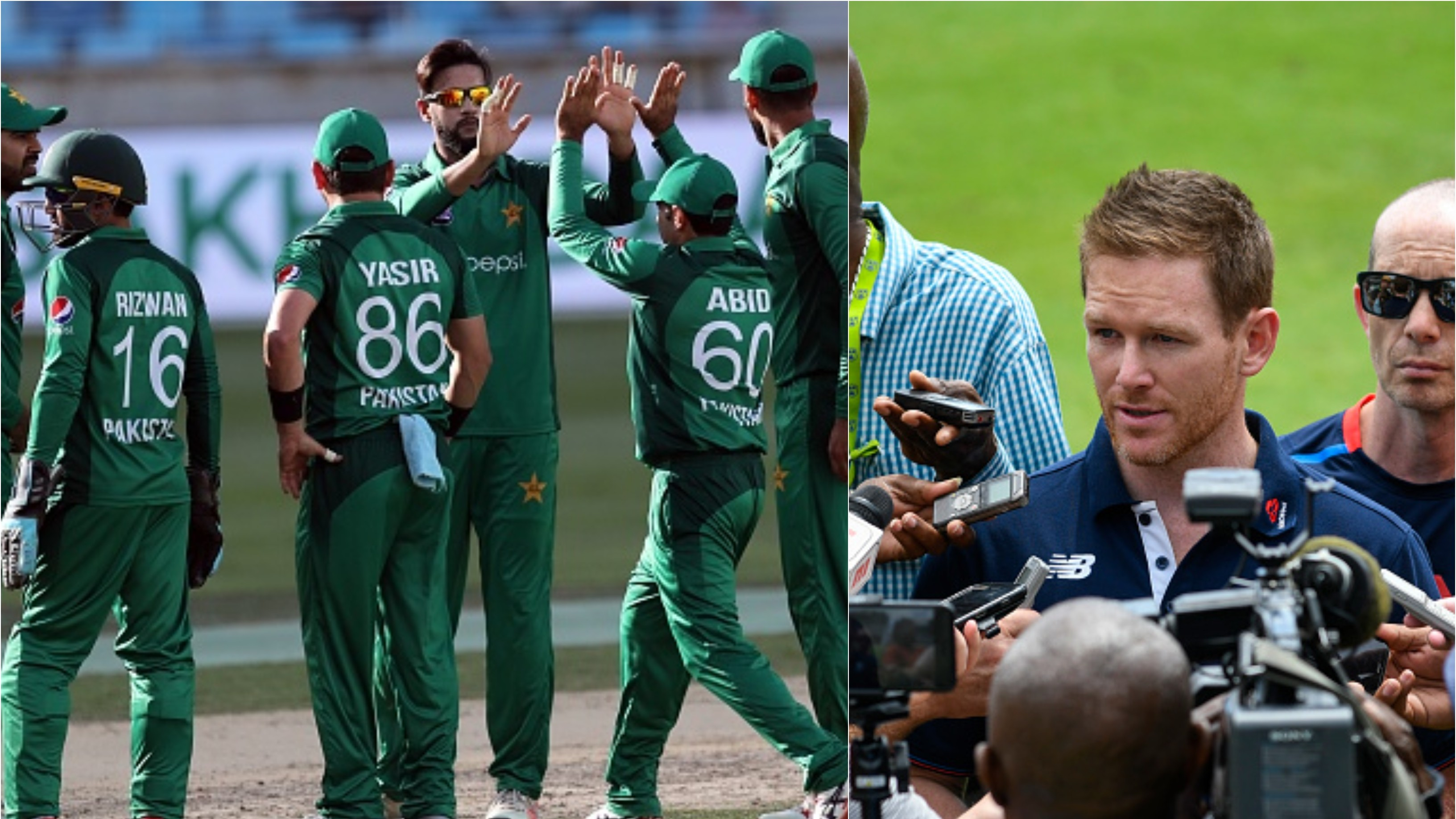 CWC 2019: Eoin Morgan picks Pakistan as one of top favorites for World Cup 2019
