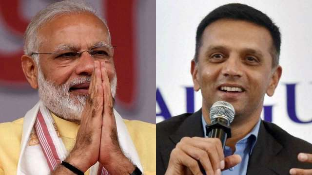 PM Modi cites Rahul Dravid as an example 'to work honestly and live for others'