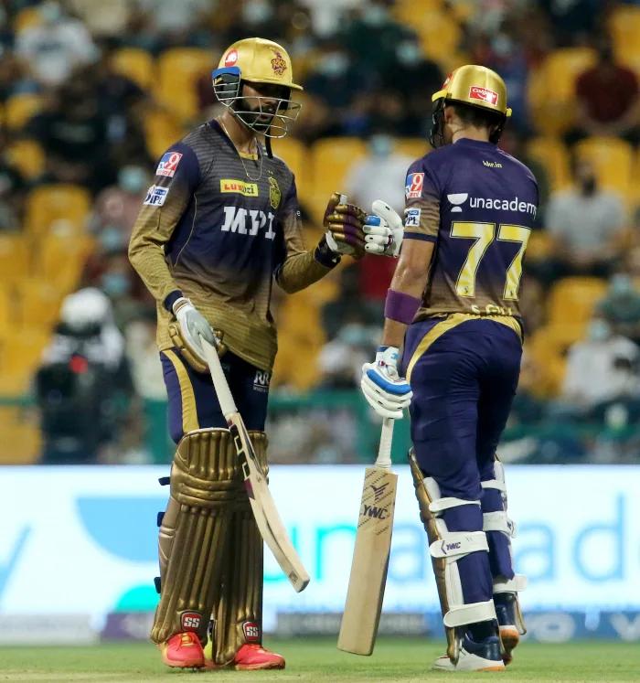 Venkatesh Iyer and Shubman Gill   BCCI-IPL