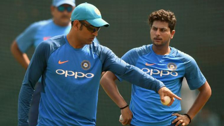 WATCH: MS Dhoni shuts Kuldeep Yadav up with a classic Dhoni quip