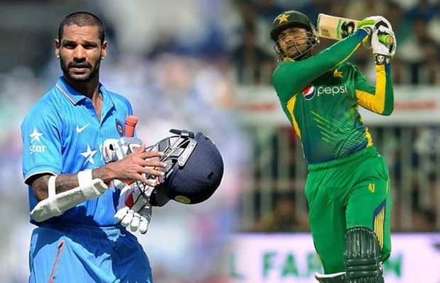 Shikhar Dhawan's tweet to Shoaib Malik impressed fans of both countries