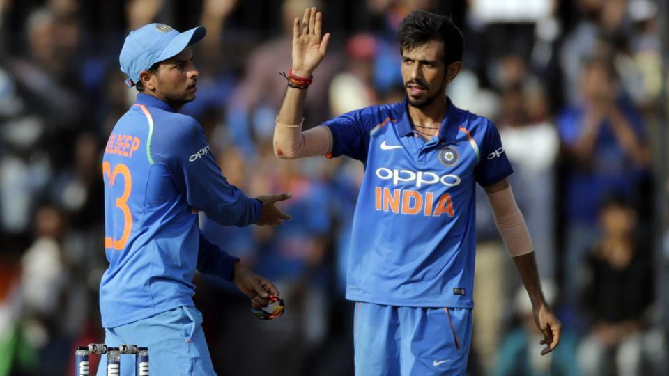 Kuldeep Yadav and Yuzvendra Chahal | AP