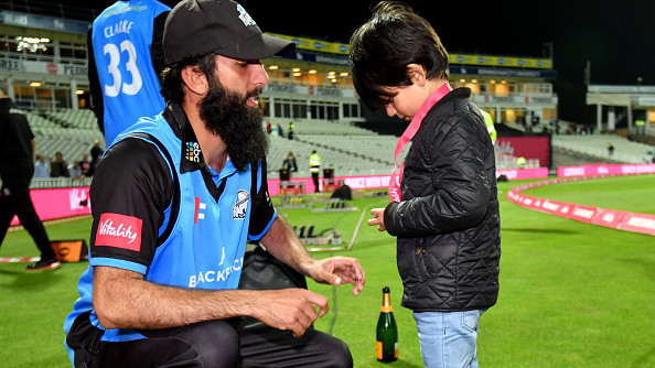 Watch: Worcestershire Rapids' Moeen Ali's gesture after winning Vitality Blast wins heart on Twitter