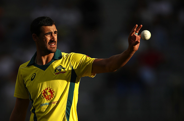 Starc will miss Australia's limited-overs series in India due to a torn pectoral muscle | Getty