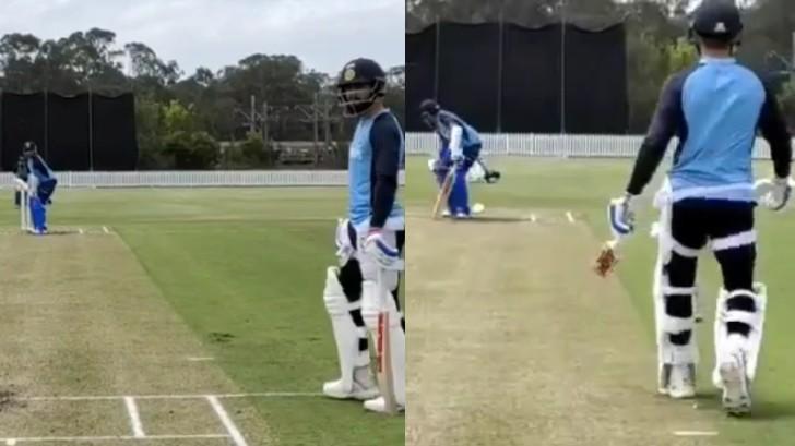 AUS V IND 2020-21: WATCH - Prithvi Shaw prepares for Test series under Virat Kohli's supervision
