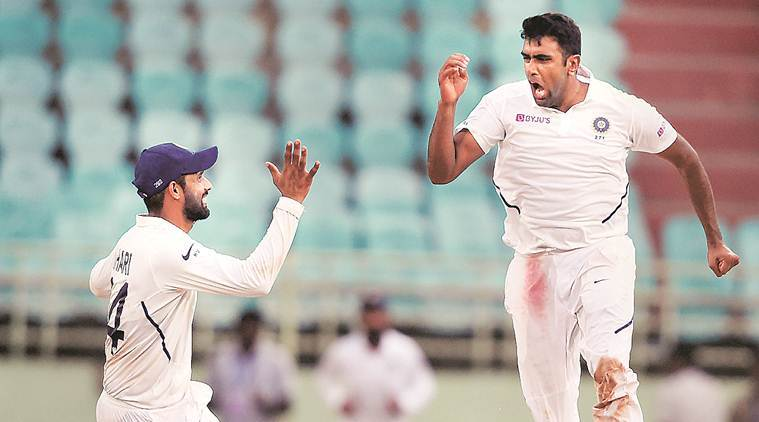 R Ashwin picked 7/145 in 1st inns against South Africa in Vizag | AFP